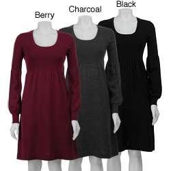 Calvin Klein Womens Scoop neck Sweater Dress