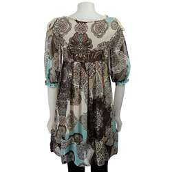 BCBGeneration Womens Scalloped Shoulder Dress  Overstock