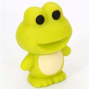 cute green frog eraser from Japan by Iwako Toys & Games
