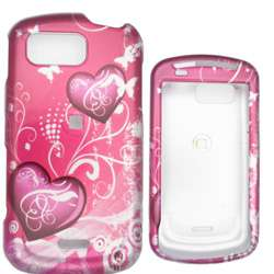 Samsung M350 Seek Pink Heart Snap on Case