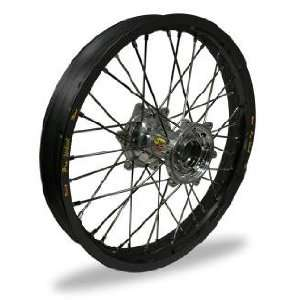 MX Front Wheel Set   21x1.60   Black Rim/Silver Hub 23 21012 HUB/RIM