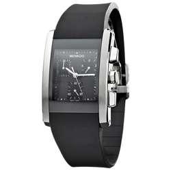 Movado Eliro Mens Chronograph Rubber Strap Watch