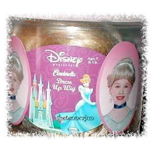 Disney Princess Cinderella Costume Dress up Wig Toys & Games
