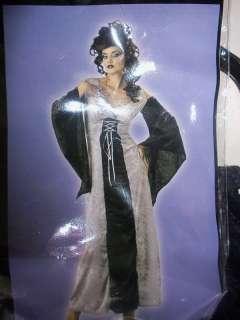 WOMENS ADULT VAMPIRE VIXEN VELVET DRESS COSTUME LARGE