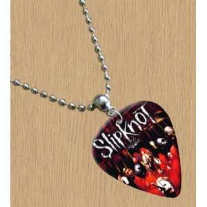 Slipknot Premium Guitar Pick Necklace Musical Instruments