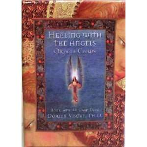 HEALING WITH THE ANGELS Oracle Ca4rds : 44 Card Deck and
