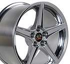 18 Polished wheels Fit Ford Mustang® Saleen style rims