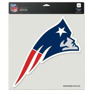 New England Patriots 8x8 Die Cut Full Color Decal Made in the USA