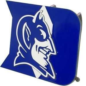 Duke Blue Devils 3 D Logo Trailer Hitch Cover   NCAA