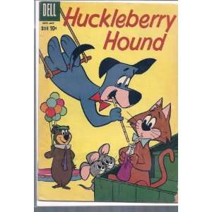 HUCKLEBERRY HOUND # 7, 2.5 GD + Dell  Books