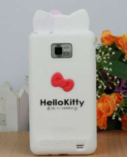 Kitty Silicone Soft Case Cover For SAMSUNG i9100 GALAXY S2