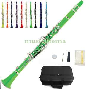 color clarinet Bb great material technic tone green