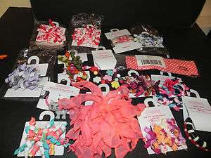 NWT Gymboree Hair Clips Ties Bows Watch Pony Tail Holders KORKERS