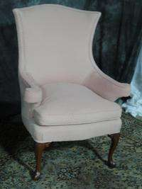 BEAUTIFUL PAIR VINTAGE DOWN CLUB DESIGNER CHAIRS NICE