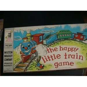 Vintage 1957 the Happy Little Train Game Board Game: Everything Else