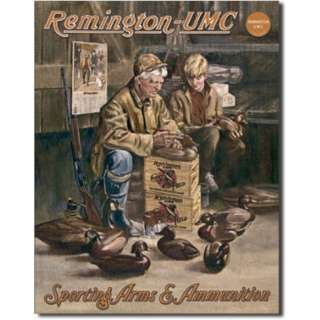 Remington   UMC Hunting Duck Decoy Maker Tin Sign at AllPosters