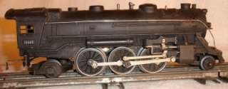 VTG LIONEL 1666E STEAM LOCOMOTIVE ENGINE O SCALE PRE WAR WITH BOX