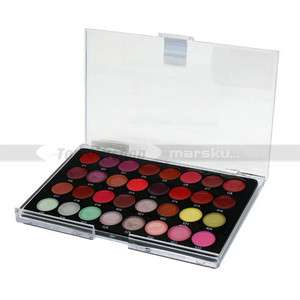 32 Color Cosmetic Lip Lipsticks Gloss Makeup Palette Set kit