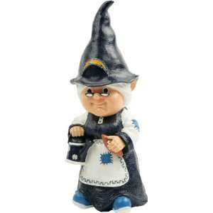 San Diego Chargers Team Lady Garden Gnome  Sports