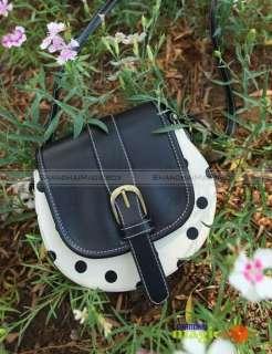 New Women Beetle Polka Dot Crossbody Shoulder Bag 468