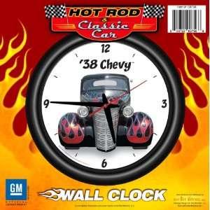 Clock Front Flames   Chevrolet, Hot Rod, Classic Car