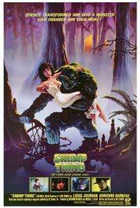 Swamp Thing 27 x 40 Movie Poster, Adrienne Barbeau, A
