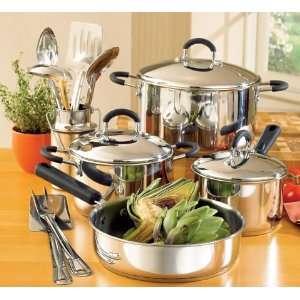 Piece Professional Cookware Set with Bonus Utensil Set