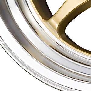 New 15X8.25 4 100/4 114.3 Drag DR 54 Gold Machined Lip Wheels/Rims