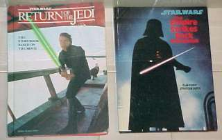 Original Star Wars & Empire Strikes Back Storybook Lot