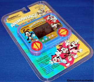 NEW TIGER ELECTRONIC HANDHELD ANIMANIACS CARTOON GAME