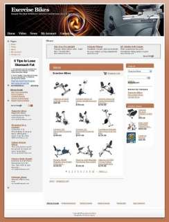 Exercise Bikes Website For Sale