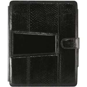 Stylish Genuine Snake Leather iPad Case Jewelry