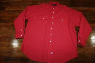 XL * vtg 90s 1993 POLO RALPH LAUREN fisherman shirt * SPORTSMAN