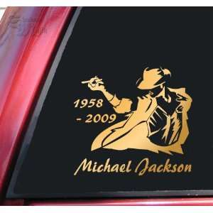 Michael Jackson 1958   2009 Vinyl Decal Sticker   Mirror
