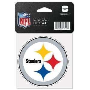 Pittsburgh Steelers Die Cut Decal 4x4