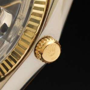 PRECISION STEEL GOLD BEZEL MANUAL WIND BIG SWISS MENS WATCH