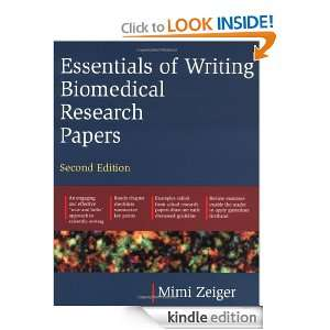 Essentials of Writing Biomedical Research Papers: Mimi Zeiger: