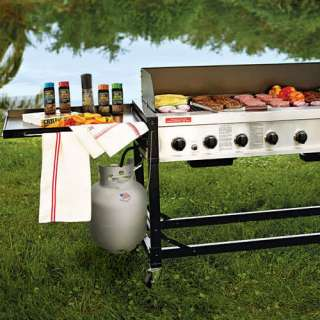 Grill 8 Burner Event LP Gas Grill 116,000 BTU with stainless steel