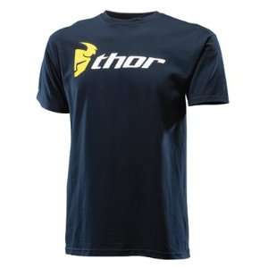 Thor Motocross Loud N Proud T Shirt   X Large/Navy