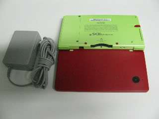 Nintendo DSi Game System   Red & Green Custom Color Combo