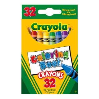 Crayola Coloring Book Crayons, 32ct Pretend Play, Arts & Crafts