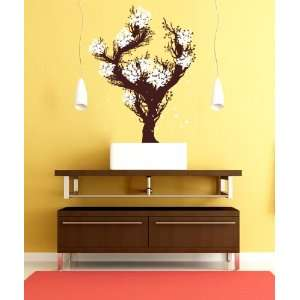 Vinyl Wall Decal Sticker Large Blossom Tree GFoster157s
