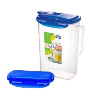 Lock&Lock BPA Free Water Pitcher/Jug with Flip Top and Leak Proof