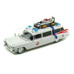 Movie/TV Ghostbusters Ecto 1 Ambulance 1/43 Elite White at