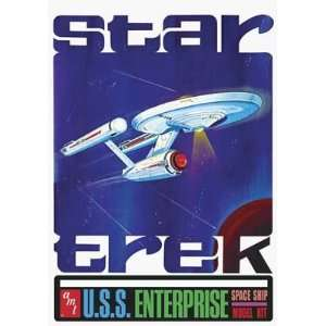 650 Star Trek USS Enterprise 18 (Plastic Space Model) Toys & Games