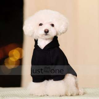 Pet Dog Hooded Coat Hoodie Costume Clothes Jacket Apparel Clothing