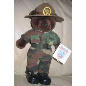 Mini Bear Army Drill Instructor Toys & Games