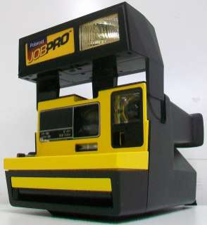 Vintage Polaroid JobPro Instant Camera 600 Works 074100168731