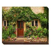 Outdoor Canvas Art   Floral Canoay