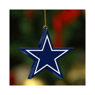 NFL   Dallas Cowboys Team Logo 3D Ornament Sports Fan